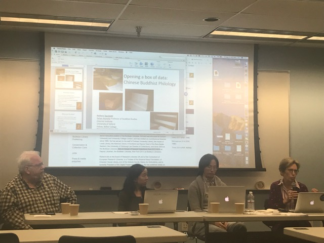 Professor Borgman participates in a Digital Humanities panel at the GSE&IS InterActions Symposium on Big Data