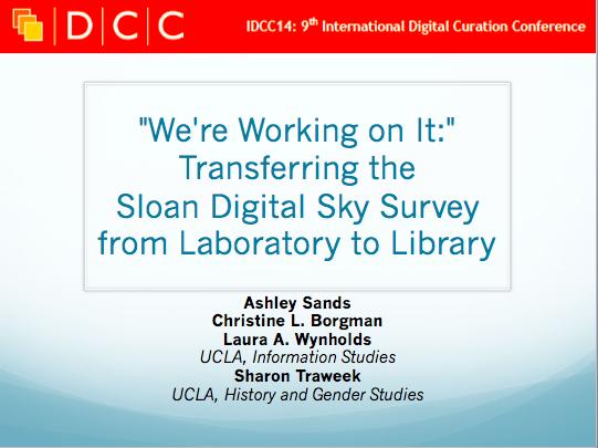 New KI publication in the International Journal of Digital Curation